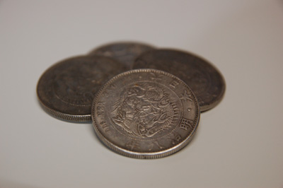 旧一円銀貨